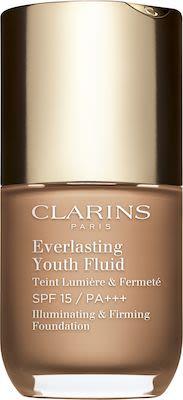 Clarins Everlasting Youth Fluid Foundation N° 112 amber 30ml