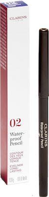 Clarins Eye Pencil Waterproof Eye Pencil N° 02 Brown 0,3g