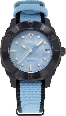 Alpina Ladies' Seastrong diver comtesse gyre automatic