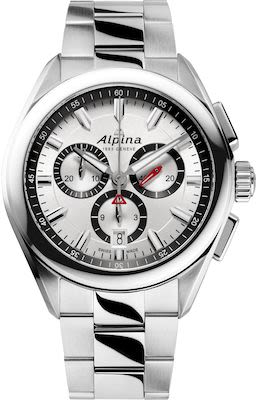 Alpina Gent's Startimer pilot quartz chronograph