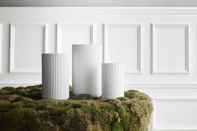 Lyngbyvase H25 white porcelain