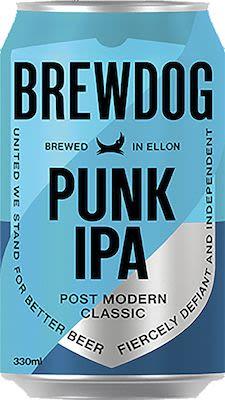 Brewdog Punk IPA 24x33 cl. cans. - Alc. 5,4% Vol.