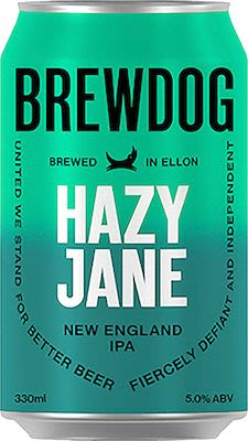 Brewdog Hazy Jane 24x33 cl. cans. - Alc. 5% Vol.