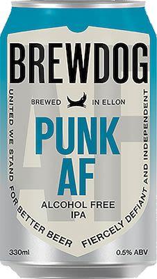 Brewdog Punk AF 24x33 cl. cans. - Alc. 0,5% Vol.