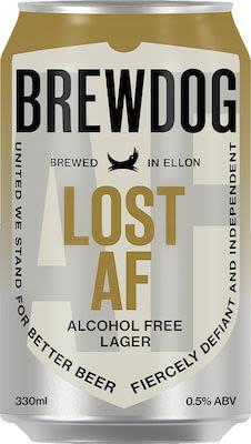 Brewdog Lost AF 24x33 cl. cans. - Alc. 0,5% Vol.