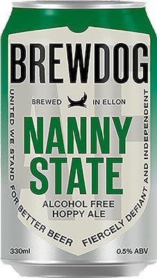 Brewdog Nanny State 24x33 cl. cans. - Alc. 0,5% Vol.