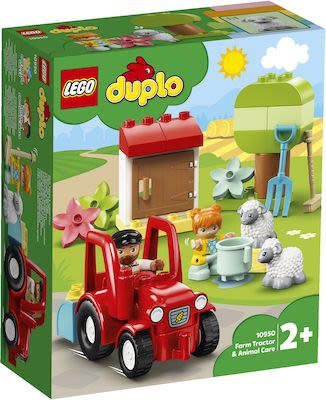 Lego Duplo Farm Tractor & Animal Care