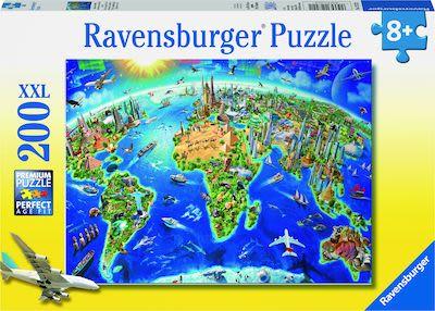 Ravensburger World Landmarks Map Puzzle