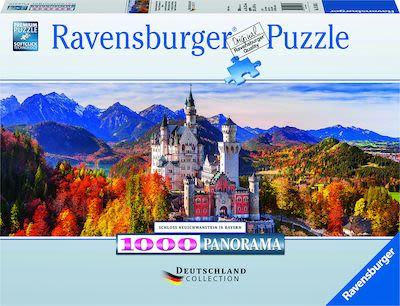 Ravensburger Neuschwanstein Castle Bavaria Puzzle