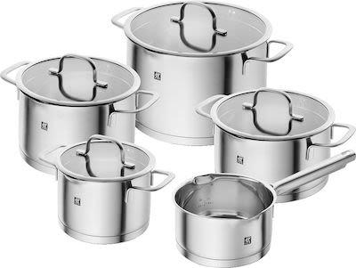 Zwilling 5-pcs Trueflow Cookware Set