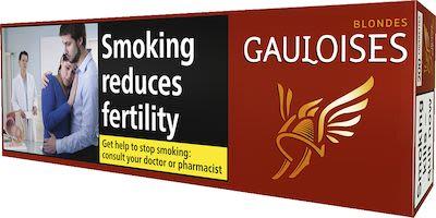 Gauloises Blondes Red 200 pcs