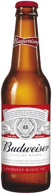 Budweiser Beer US 24x33 cl. btls. - Alc. 5% Vol.