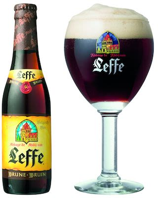 Leffe Brune 24x33 cl. btls. - Alc. 6.5% Vol.