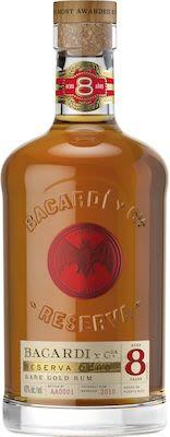 Bacardi 8 YO Giftbox 100 cl. - Alc. 40% Vol.