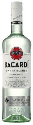 Bacardi Carta Blanca 100 cl. - Alc. 40% Vol.