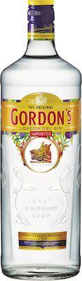 Gordons Dry Gin 100 cl. - Alc. 47.3% Vol.