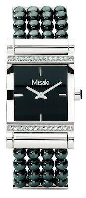 Misaki Ladies' Parisienne Watch Black
