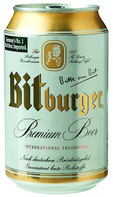 Bitburger 24x33 cl. cans. - Alc. 4.8% Vol.