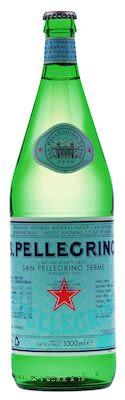 Pellegrino Sparkling Mineral Water 12x100 cl. btls.