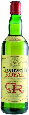Cromwell's Royal De Luxe Scotch 70 cl. - Alc. 40% Vol.