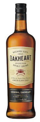 Bacardi Oakheart Smooth Spiced 100 cl. - Alc. 35% Vol.