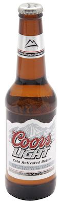 Coors Light 24x33 cl. btls. - Alc. 4% Vol.