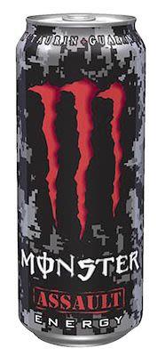 Monster Energy Assault 12x50 cl. cans.
