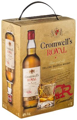 Cromwell's Whisky BIB 300 cl. - Alc. 40% Vol.
