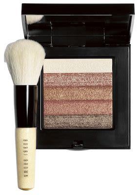 Bobbi Brown Bronze Shimmer Brick with Brush Set