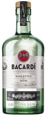 Bacardi Gran Reserva Maestro de Ron 100 cl. - Alc. 40% Vol.