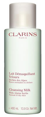 Clarins Cleansing Milk w/Alpine Herbs for dry skin 400 ml