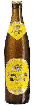 König Ludwig Wheat Beer Blond 20x50 cl. btls. - Alc. 5.5% Vol.
