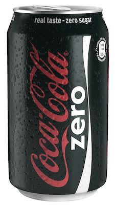 Coca Cola Zero 24x33 cl. cans.