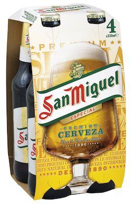 San Miguel 24x33 cl. btls. - Alc. 5.4% Vol.