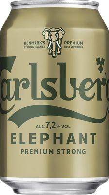 Carlsberg Elephant 24x33 cl. cans. - Alc. 7.2% Vol.