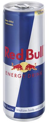 Red Bull 24x25 cl. cans.