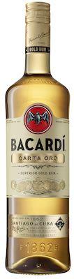 Bacardi Carta Oro 100 cl. - Alc. 40% Vol.