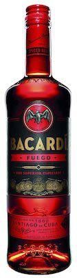 Bacardi Fuego 100 cl. - Alc. 40% Vol.