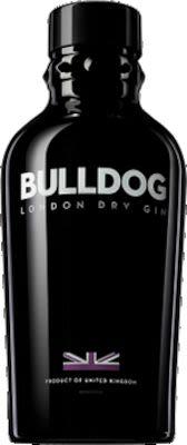 Bulldog Gin 100 cl. - Alc. 40% Vol.