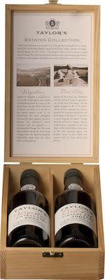2005 Taylors Estate Collection Giftbox 2x37.5 cl. - Alc. 20.5% Vol.