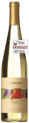2015 14 Hands Riesling Washington State 75 cl. - Alc. 13.5% Vol.