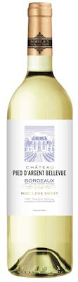 Château Pied d'Argent Bellevue Moel Bordeaux Blanc 75 cl. - Alc. 11.5% Vol.