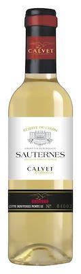 Calvet Collection Sauternes Réserve du Ciron Blanc 37.5 cl. - Alc. 13% Vol.