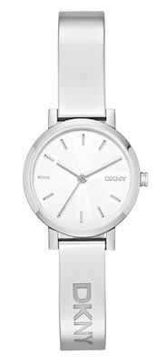 DKNY Ladies' Soho Silver Bangle Watch