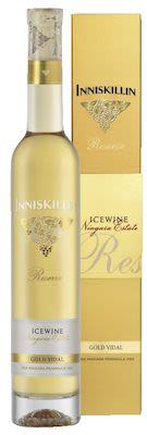 2016 Inniskillin Gold Vidal Icewine Giftbox 37.5 cl. - Alc. 9.5% Vol.