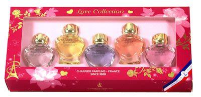 Charrier de Parfums Love Collection 5 pcs Set