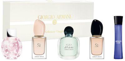 Giorgio Armani Ladies' Miniature Coffret