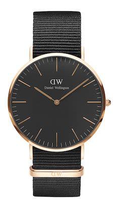 Daniel Wellington Classic Black Cornwall Unisex Watch