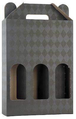 Wine Gift box for 3 btls.