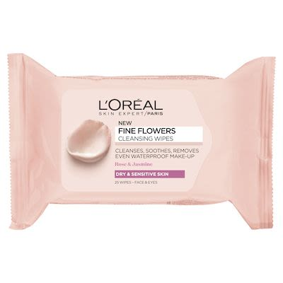L'Oréal Paris Fine Flowers Wipes Sensitive/Dry Skin